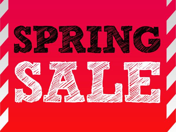 Spring Sale 1